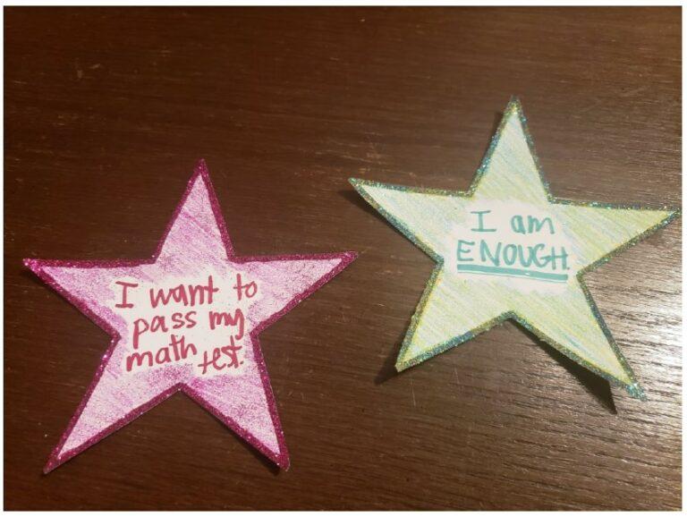 unit 9 self confidence stars samples
