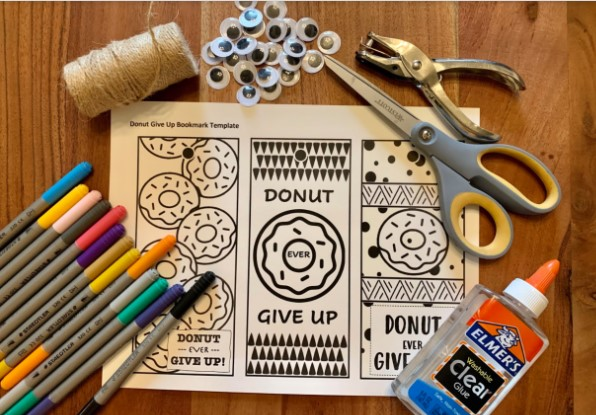 Donut Bookmark Activity